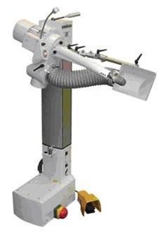 Шлифовально-фрезерный станок со стружкоотсосом MTF200/FU - копия - фото 5321