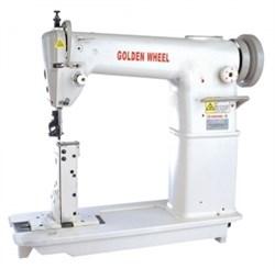 Швейная машина строчки зиг-заг с платформой колонкового типа GOLDEN WHEEL CS-2390 - фото 5443