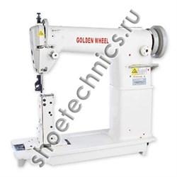 Одноигольная швейная машина с колонковой платформой Golden Wheel 810 - фото 5444