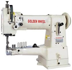 Рукавная швейная машина для окантовки GOLDEN WHEEL CS-335-BH - фото 5447