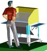 Стол для нанесения клея распылением TP 80